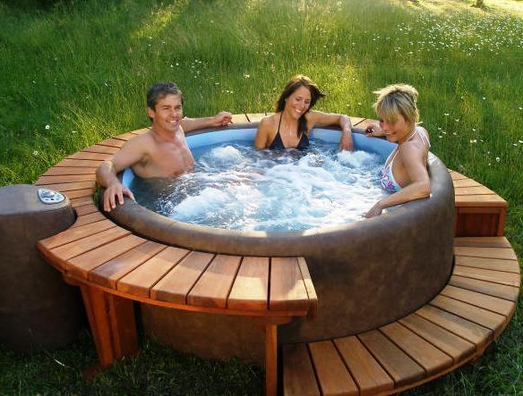 great portable hot tub